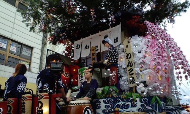盛岡秋祭りの山車「の組」_e0012815_23274223.jpg