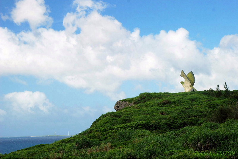 船を見送る岬(ふなうさぎバナタ)・伊良部島_c0179025_13153524.jpg