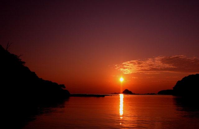 秋の夕焼け_d0074828_21541531.jpg