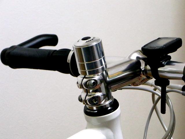 自転車の 自転車 ハンドル 交換 六角レンチ : コラムスペーサーを取り替える ...