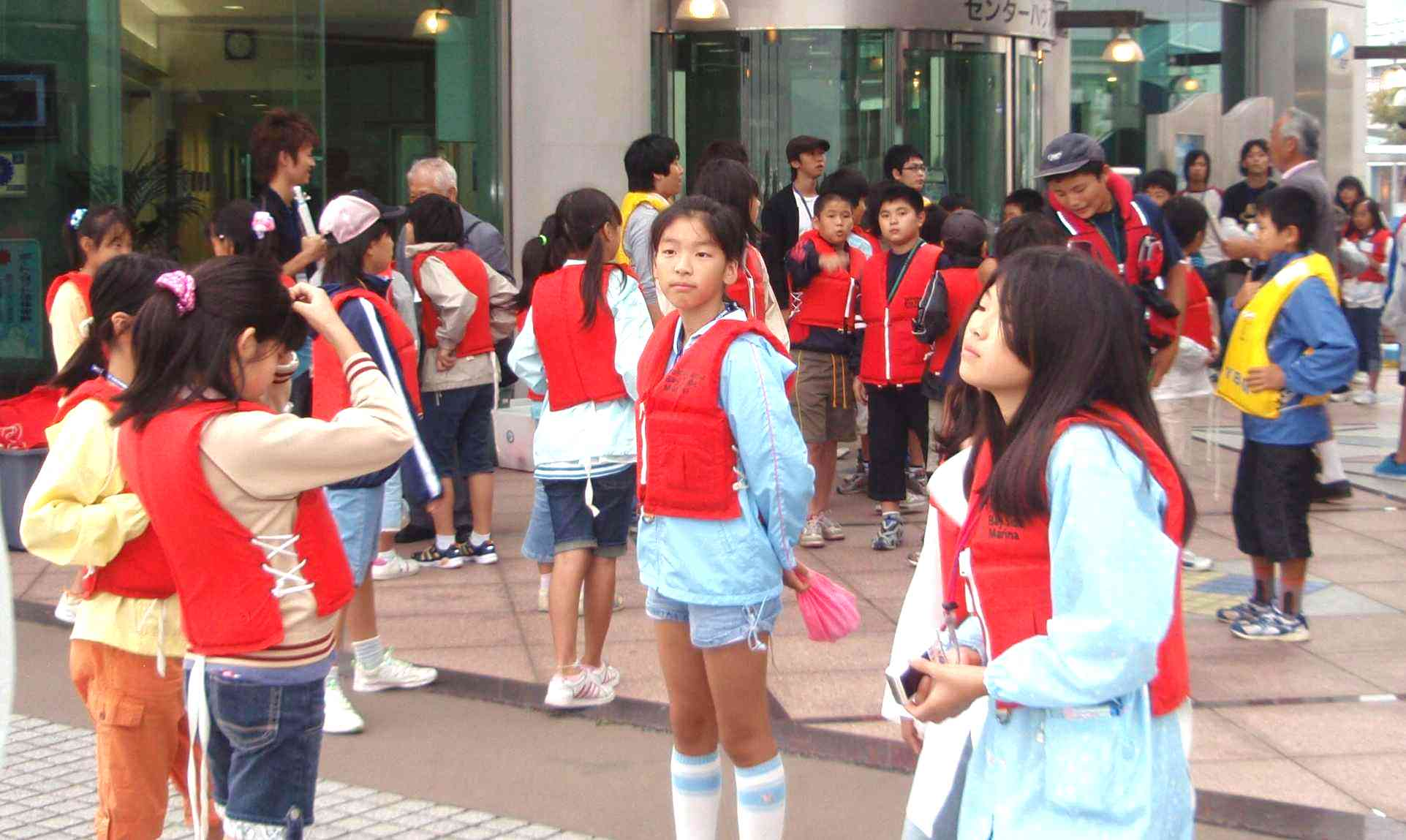 小学生対象ヨット体験乗船会
