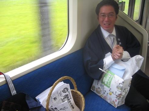 祝 北アルプス三蔵ほろ酔い号!_b0140235_855142.jpg