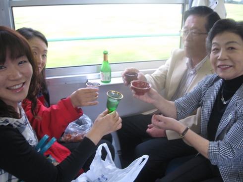祝 北アルプス三蔵ほろ酔い号!_b0140235_973551.jpg