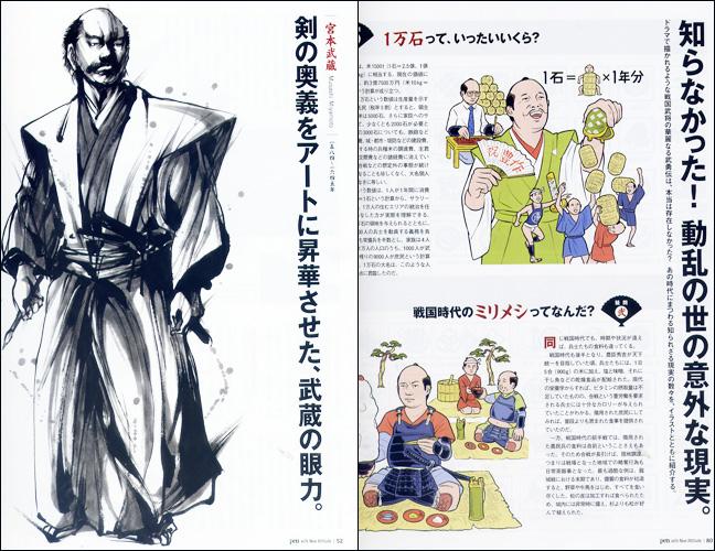日本男性流行雜誌「PEN」戰國武將特集_c0073742_1462227.jpg
