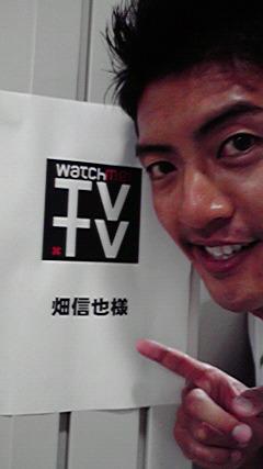 テレビのお仕事_d0118072_1939936.jpg