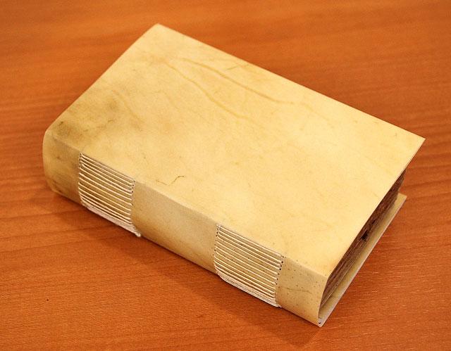 ロング・ステッチの製本 : Long-stitch bookbinding_a0125575_3155999.jpg