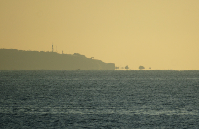 出来島海岸の夕日 (趣味人間)_a0136293_1548887.jpg