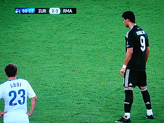 FCチューリヒ×レアル・マドリード UEFAチャンピオンズリーグ 09-10グループリーグ_c0025217_0583563.jpg