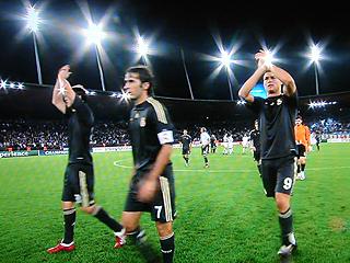 FCチューリヒ×レアル・マドリード UEFAチャンピオンズリーグ 09-10グループリーグ_c0025217_103829.jpg