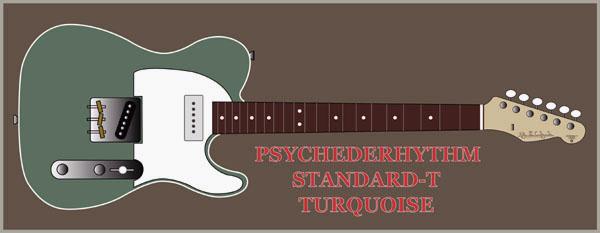 TURQUOISE色のSTANDARD-Tを5本製作します!_e0053731_18174598.jpg