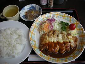 新宿三平ストアの上のレトロレストランはやしやでランチ_c0030645_21445069.jpg