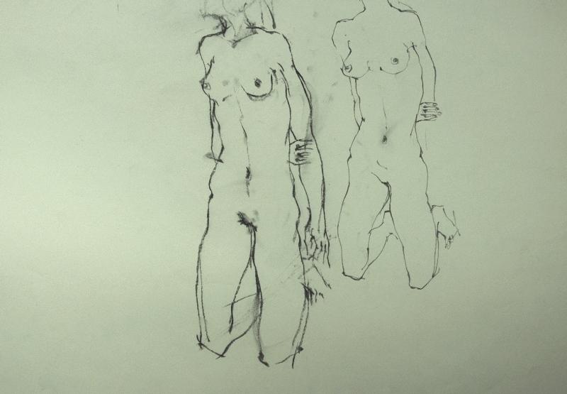 裸婦素描・・・・エゴン・シーレより_f0159856_664855.jpg