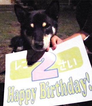Happy Birthday♡2歳♡_f0119369_1813392.jpg