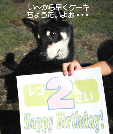 Happy Birthday♡2歳♡_f0119369_1832427.jpg