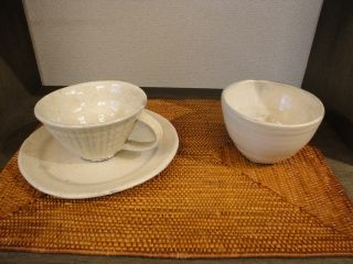 手作り陶器の展示始めました。_e0166301_1471525.jpg