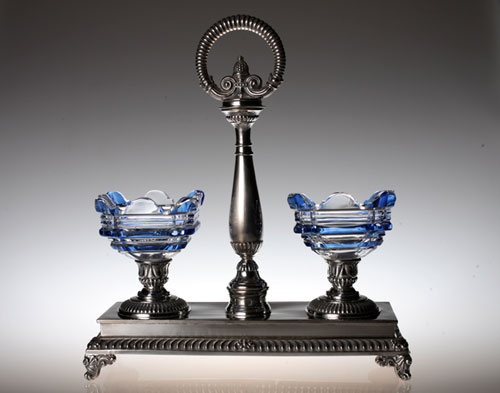 Baccarat Glass&silver S&P Stand_c0108595_7143621.jpg