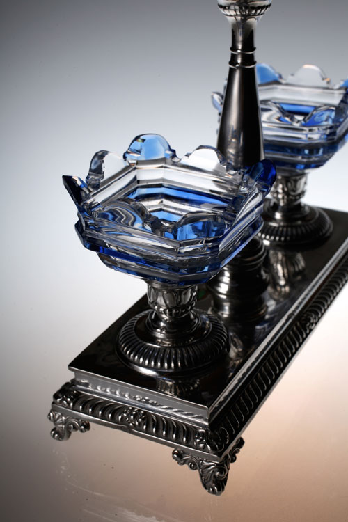 Baccarat Glass&silver S&P Stand_c0108595_7173273.jpg