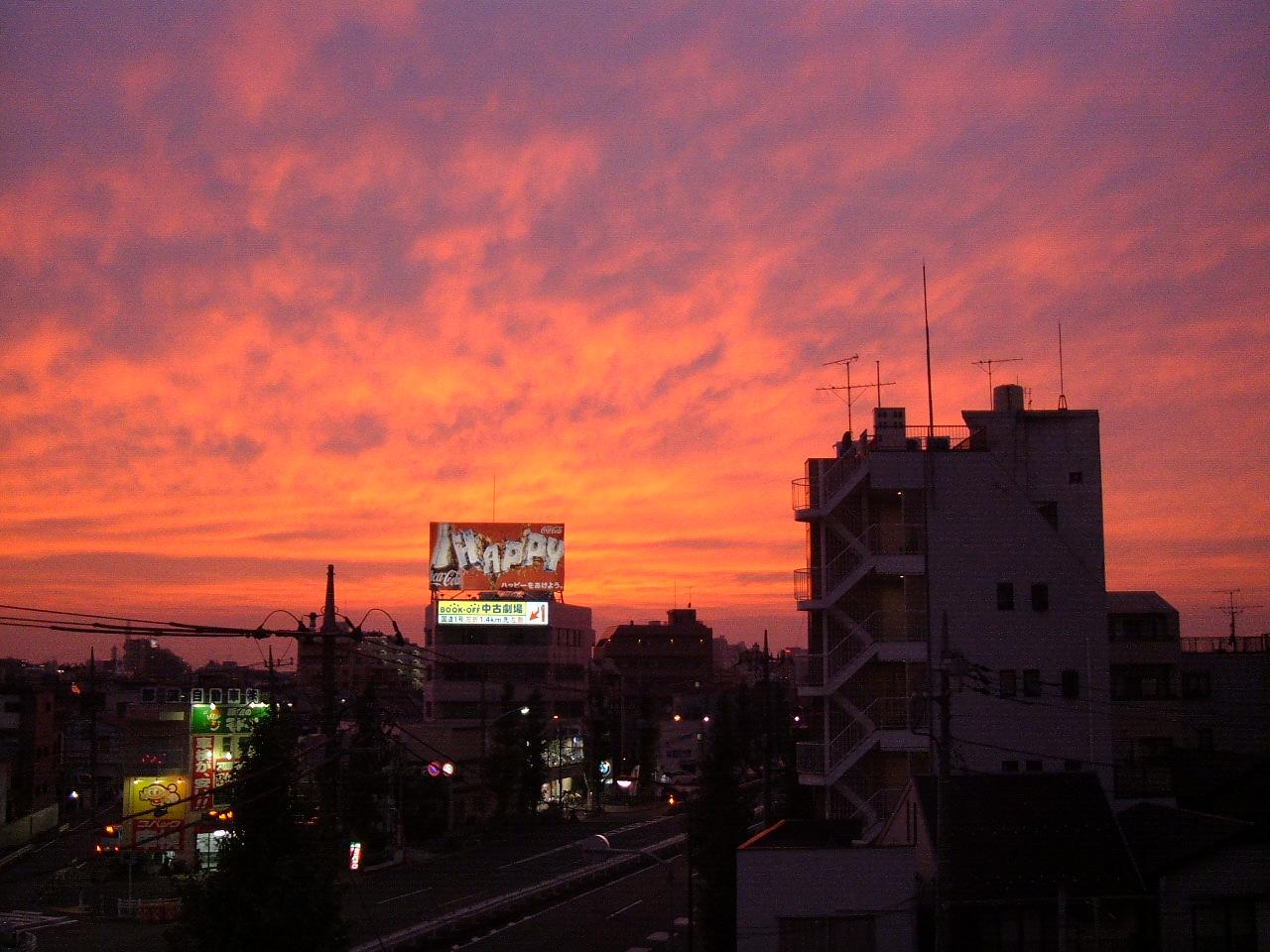 素敵な夕焼け_d0100125_18101519.jpg