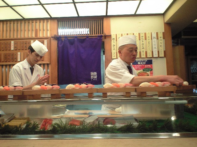 お寿司ランチ_c0151965_13484458.jpg