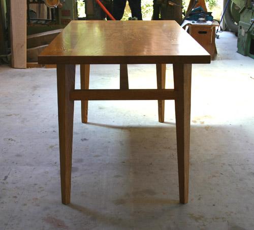 ダイニングテーブル 塗装後_f0171785_1637071.jpg