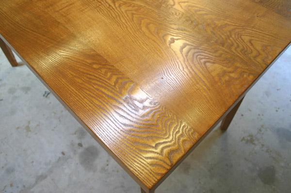 ダイニングテーブル 塗装後_f0171785_16421048.jpg