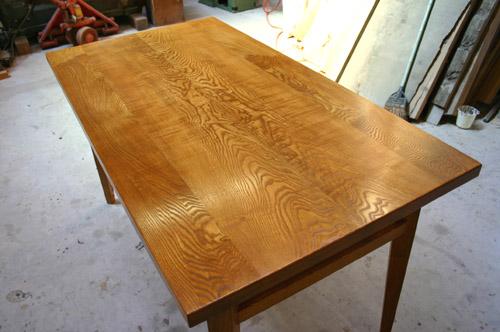 ダイニングテーブル 塗装後_f0171785_1642176.jpg