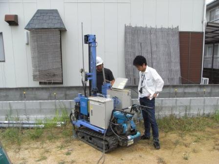 地盤調査―コクバンハウス 新築工事―_c0209036_19494037.jpg