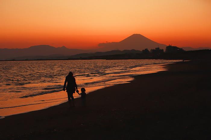 ヘッドランドから眺める富士。。。_e0139093_2157277.jpg