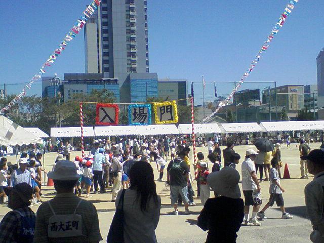 石井小学校地区運動会_f0197703_9532262.jpg