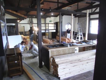 トッカン工事 ―お好み焼き満面 脇町店―_c0209036_20534837.jpg