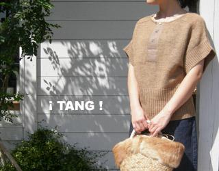 TANG 半袖ニット_a0130646_14362422.jpg