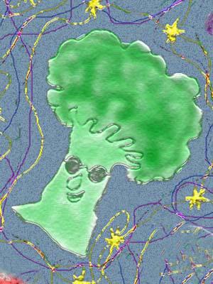 Chikyuシリーズ 月と星とブロッコリーのカーリー_e0008674_10371318.jpg