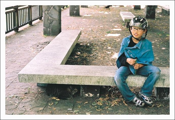 少年と猫_c0170584_1941412.jpg