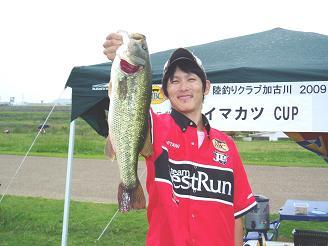 三谷聡 NBC陸釣りクラブ加古川第5戦 準優勝!_f0182191_21562743.jpg