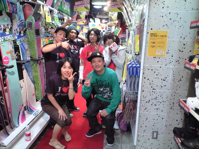 YONEX 神田ツアー MINAMI SPAZIO ②_c0151965_14543020.jpg