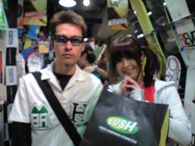 YONEX 神田ツアー MINAMI SPAZIO ②_c0151965_156527.jpg