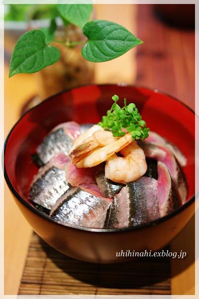 秋刀魚丼_f0179404_21533912.jpg
