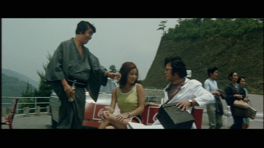 芦屋雁之助も二役で登場し、いずれも池玲子のスポンサーとなるも腹上死・・・って、一体どんな映画だよ
