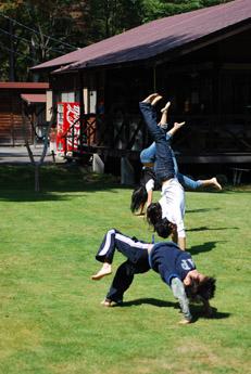 北軽井沢その3・愛犬さくらと子供達_f0179528_1285458.jpg
