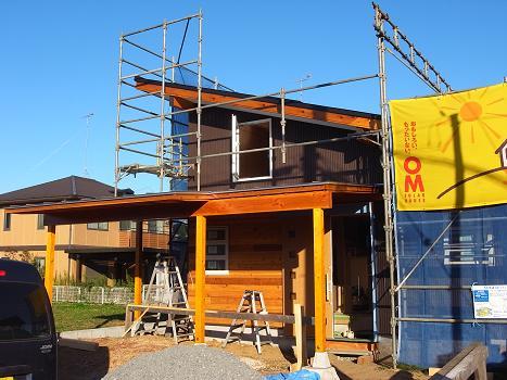 内原の家 階段造作工事 2009/9/25_a0039934_19154633.jpg