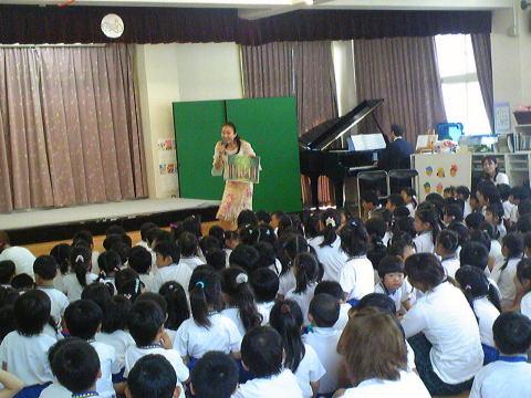 松風幼稚園でコンサートをしました_f0019063_1824753.jpg