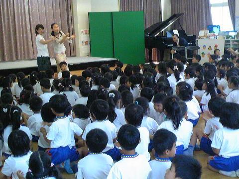 松風幼稚園でコンサートをしました_f0019063_1841286.jpg