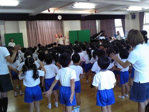 松風幼稚園でコンサートをしました_f0019063_1845327.jpg