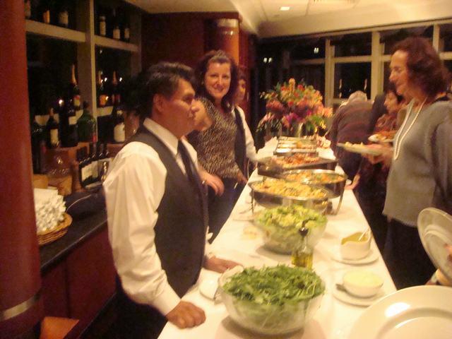 味覚の秋の晩餐パーティーで、_d0100880_0484443.jpg