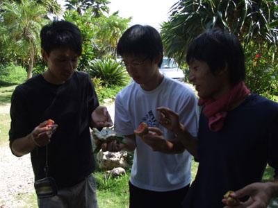 長崎県立大学西村ゼミさん、いらっしゃい!!_e0028387_2230513.jpg