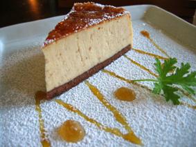秋のチーズケーキ_c0052692_13463830.jpg