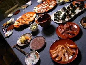皆でお寿司を食べました_f0106597_15513638.jpg