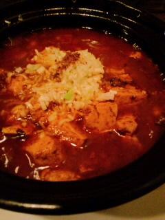 日本人が好きな味ね麻婆豆腐を_f0190225_1495252.jpg