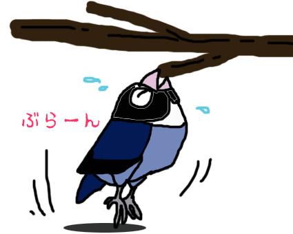 止まり木の活用法_e0147757_23152310.jpg