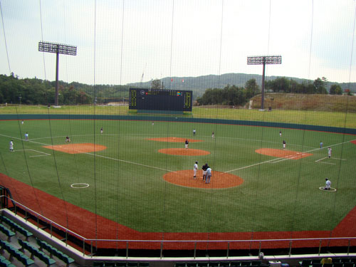 野球場はしご_a0047200_2125425.jpg